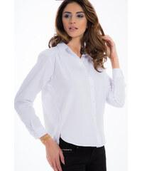 307697075570 Amando Biela košeľa s perlami 21337