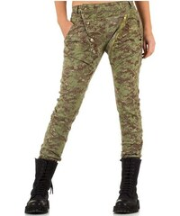 66a81a12fdf Maskáčové dámské kalhoty