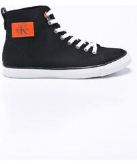 Calvin Klein Jeans Tenisky vysoké  NIGEL  černá   bílá - Glami.cz 38268f407d2
