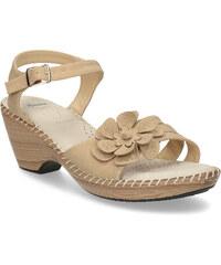 9b2e99e9af2f Comfit Béžové sandále s kvetom