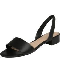 ALDO Páskové sandály  CANDICE  černá 3ec26016ea