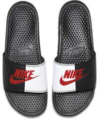 fd85a0fd7c08 Pánske šľapky Nike Benassi Just Do It Black Game Red White