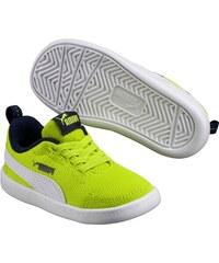 Puma Chlapecké tenisky Courtflex - neonově zelené dc96c22aff