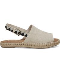 96d838bd687c Dámske krémové sandálky TOMS Oxford Clara