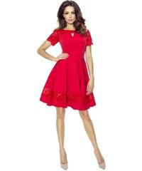 Červené společenské šaty z obchodu I-Moda.cz - Glami.cz a0cb22eb18