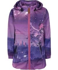 Ružovo-fialová dievčenská vodovzdorná bunda s kapucňou Lego Wear Jakob 57a8997dafc