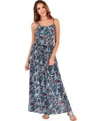 CONTINENTAL Dámské maxi šaty Presly zelené ade34718d1