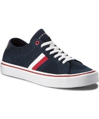 Tenisky TOMMY HILFIGER - Lightweight Corporate Sneaker FM0FM01619 Midnight  403 6300d42b201