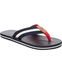 Žabky TOMMY HILFIGER - Beach Sandal With Stripes FM0FM01597 Midnight 403 bb57d16c2d5