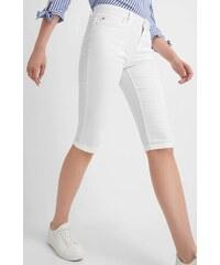 df945c752a3 Bílé casual dámské kalhoty - Glami.cz