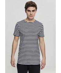 498d77926a8 Urban Classics Pánske tričko Stripe Teeblk wht