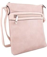 Tapple Béžová s růžovým nádechem dámská crossbody kabelka Tebouen 4ce4026de87