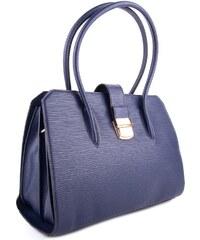 BELLA BELLY Modrá dámská luxusní kabelka s netradičním vzorem Nezlien c19b5ce71f3