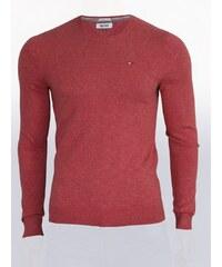 2b80e4af1fc8 Tommy Hilfiger Pánský červený svetr Tommy Hilfiger Denim 8982