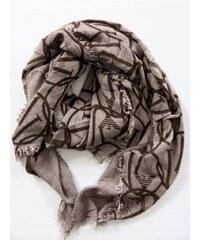 Armani Hnědý šátek Armani Jeans 8998 c370aafff3