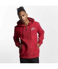 Pánská mikina Ecko Unltd. červená na zip Hoodie Back Print b50a70dc5f