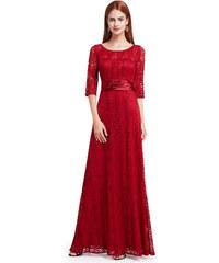 Červené dlouhé šaty Ever Pretty 8878 943b1e91b0