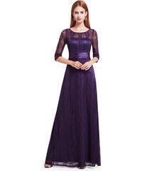 Fialové dlouhé šaty Ever Pretty 8878 9aa60208c11