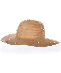 7d1b98099d0 Fashion Icon Dámský letní klobouk s perlíčky