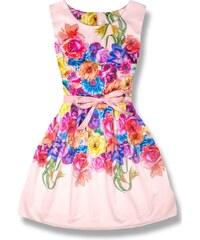 Mishe Biele šaty Hounds. Veľkosť len S. Detail produktu. MODOVO Elegantné  dámske šaty 1439 ružové e026bfaacc3