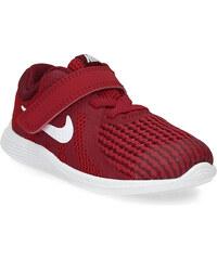 Nike Červené dětské tenisky na suchý zip fee40460978