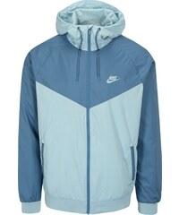 Světle modrá pánská funkční bunda s kapucí Nike 8e29a40a09