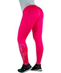 Dámske legíny Vertical Pink White - GymBeam f13cc063eb