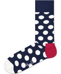Happy Socks Big Dot Ponožky Modrá 6c69870d0a