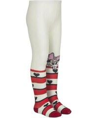 Egyéb márka Minnie csíkos-szíves törtfehér harisnya 13f50ebff1