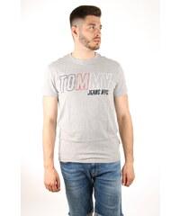 7e838c15e4b Tommy Hilfiger pánské šedé tričko