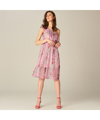e34ab6402c5 Mohito - Vzdušné šaty s volánkem - Růžová