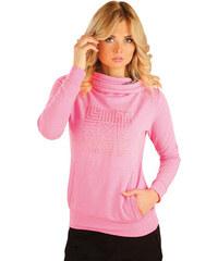 LITEX Mikina dámská s kapucí. 54102311 reflexně růžová M 8e68f6aba9