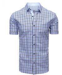 2ecbb1577e0a Brand Bielo-modrá pánska košeľa na leto (kx0848) kx0848