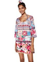 Barevné letní plážové krátké šaty - Glami.cz f81d45bfe0