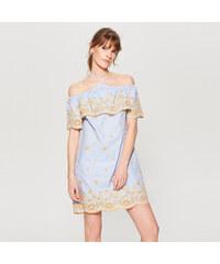 85f2f3bc82e Mohito - Šaty s odhalenými rameny - Vícebarevn