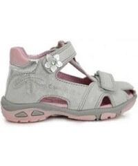 f3606bf889ce Dievčenské sandále kožené D.D.STEP AC290-7002M white