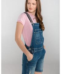 Pepe Jeans Abby Destroy Šortky Modrá ec76aeb08d