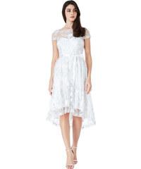 CITYGODDESS Společenské šaty Goddess bílé efbd510bec