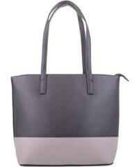 Tapple Černo šedá dámská kabelka do ruyk i přes rameno Pirten 412c9b51b9e