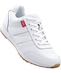 Bílé kožené nízké dámské boty - Glami.cz 098bf8a33a3