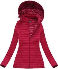 09977f2bb8 The SHE Červená dámska bunda s kapucňou