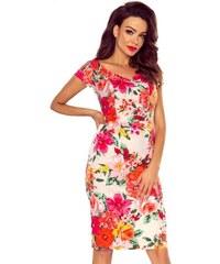 Růžové jarní květované šaty pro družičky - Glami.cz 7fb2091440