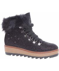 e8fab6375a4e Dámská kotníková obuv Tamaris 1-26722-21 black 1-1-26722-