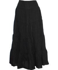 Radka Kudrnová Černá dlouhá dámská letní sukně fe6cf43c9a