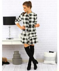 Dámské šaty Regina bílo-černé - bílá - černá a752f25cf1