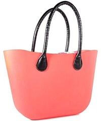 0dcea02c69 Afrodit Silikónová kabelka Lia neonově oranžová