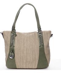 Exkluzívna dámska kabelka cez rameno zelená - MARIA C Nevaeh zelená b770eb60a1e
