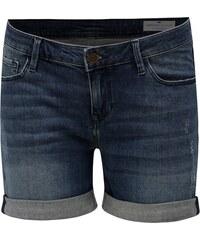 Tmavě modré dámské džínové regular short kraťasy Cross Jeans f332bfc163