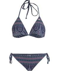 Šedé dámské dvoudílné vzorované plavky Roxy Su 3fae9d1632