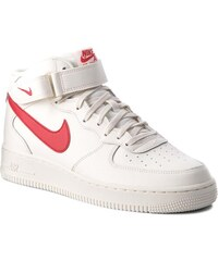 3ee93be5f63 Boty NIKE - Air Force 1 Mid  07 315123 126 Sail University Red